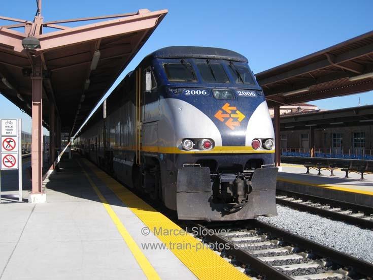 Amtrak California Diridon station