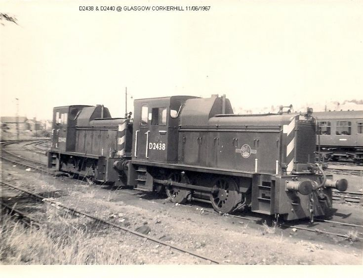 A couple of shunters