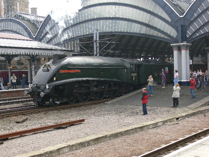 A4 60009 Union of South Africa at York 23/9/2006