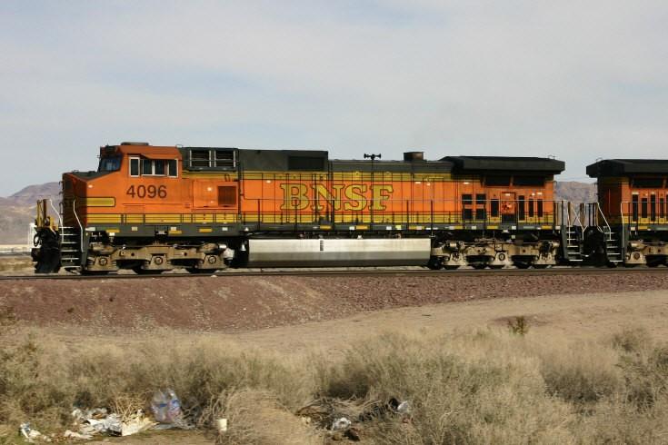 GE C44-9W diesel locomotive