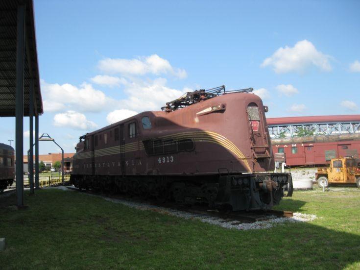 PRR GG1 locomotive #4913