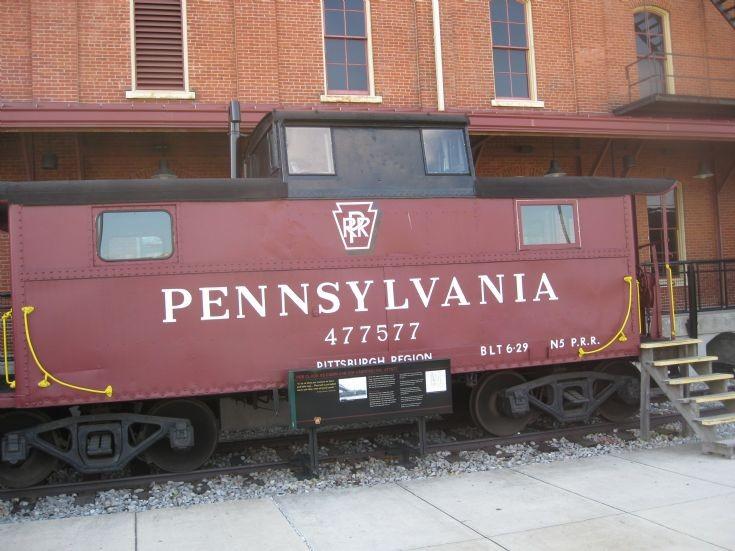 PRR 477577 caboose