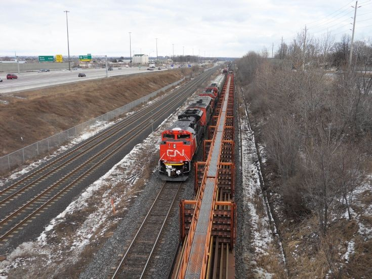 CN Rail freight train