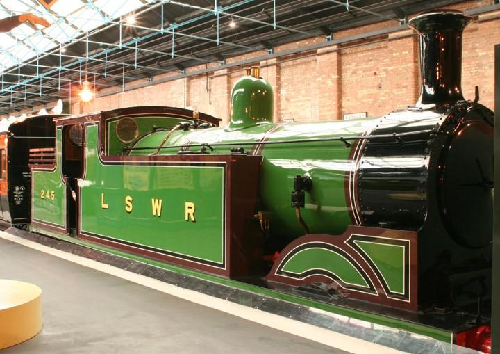 LSWR 0-4-4T M7 Class no. 245 (BR no. 30245)