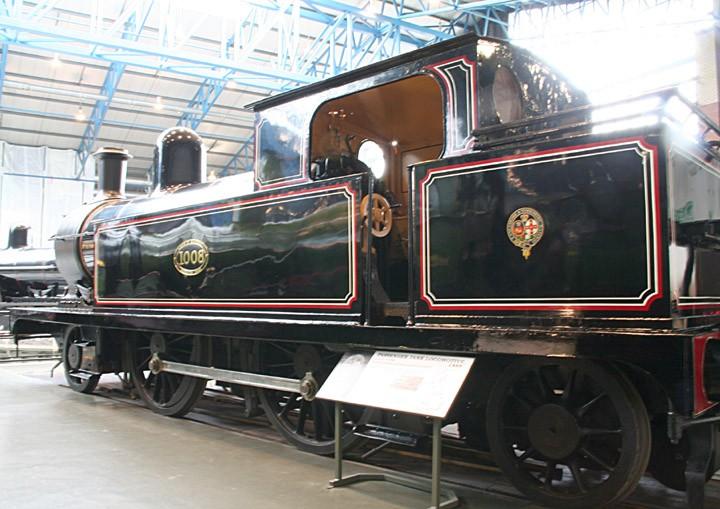 L&YR Class 5 2-4-2T 1008 (BR 50621)