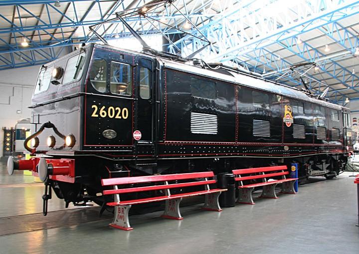 BR Class 76 Bo-Bo 26020 (BR  76 020)