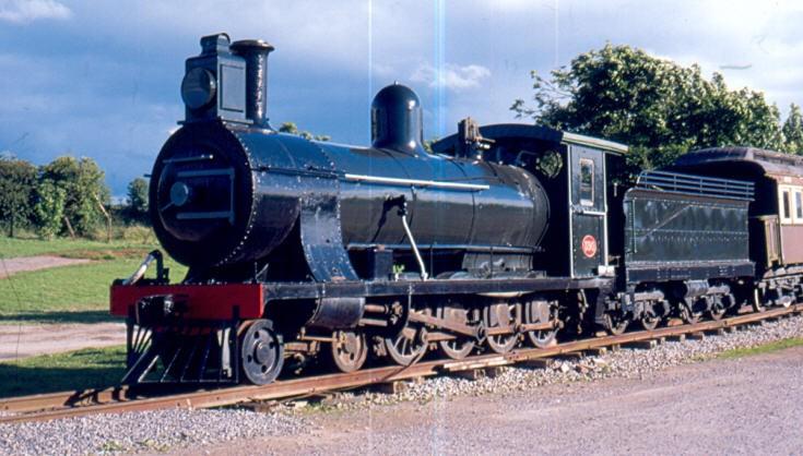 Steam locomotive 390