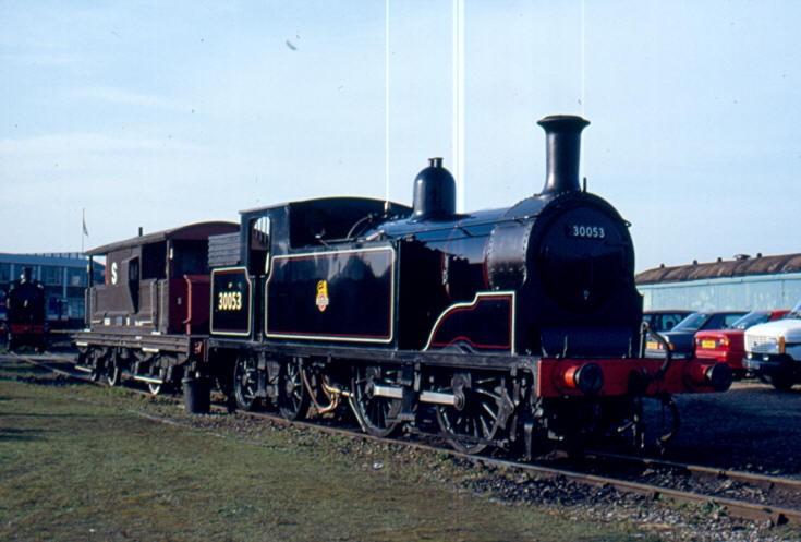 LSWR M7 class 30053