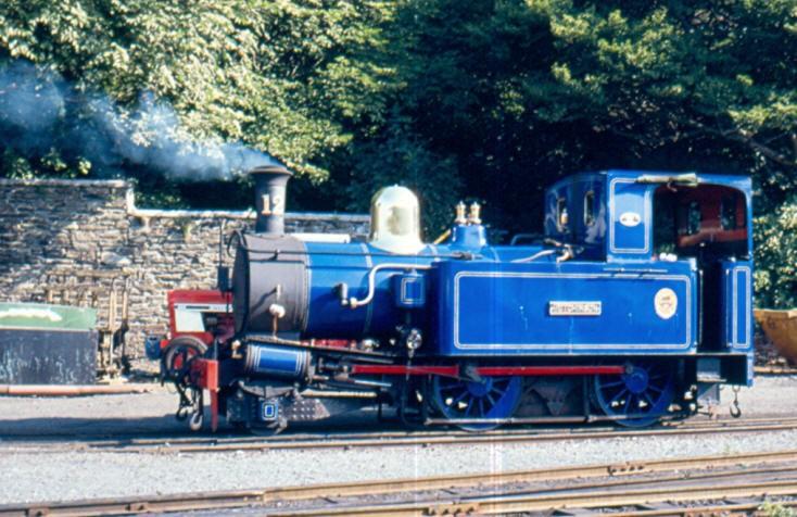 2-4-0 Steam locomotive Hutchinson