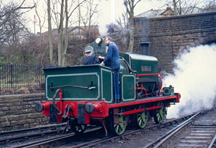 Steam locomotive Sir Berkeley