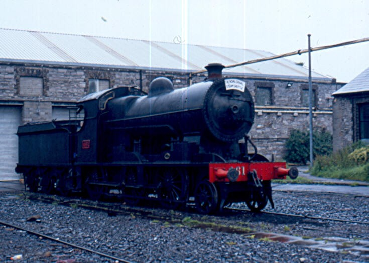 2-6-0 Steam locomotive 461