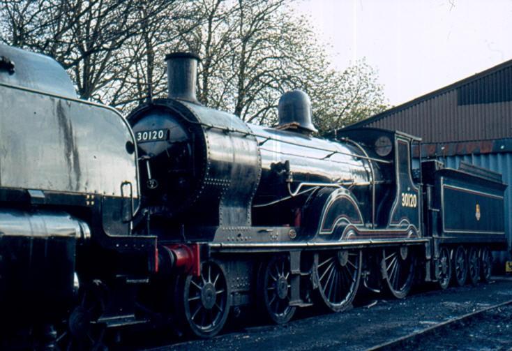 4-4-0 steam locomotive T9