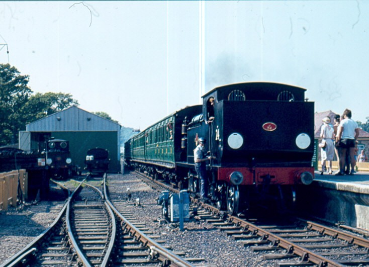 Steam locomotive number 24