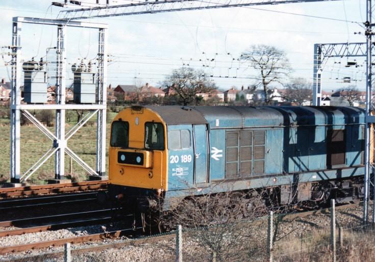 diesel locomotive 20189
