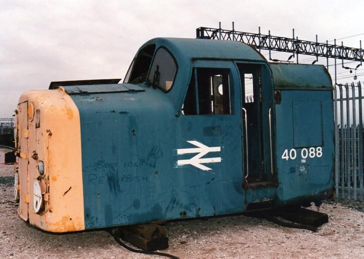 40088  at Crewe