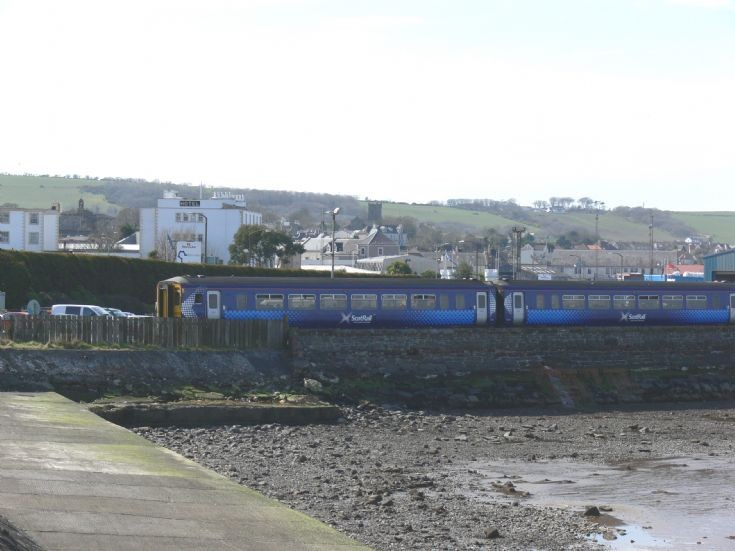 156511 leaving Stranraer