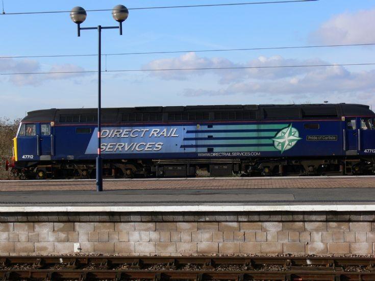 Class 47 47712 at York