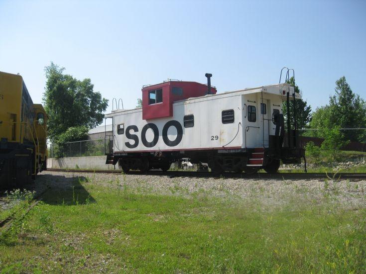 Soo Line caboose #29