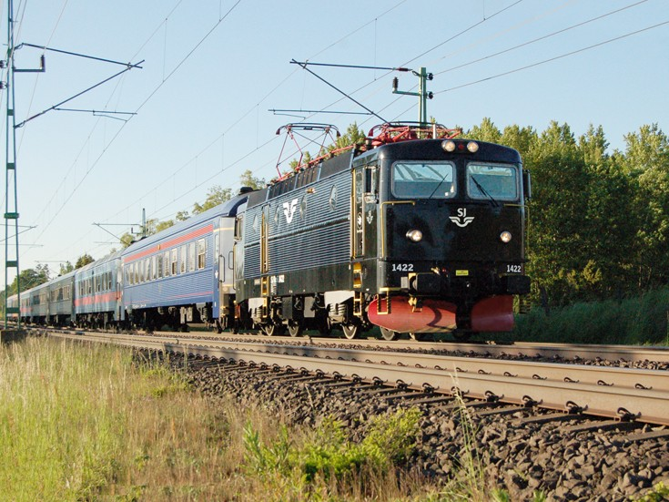 Locomotive Rc6 1422