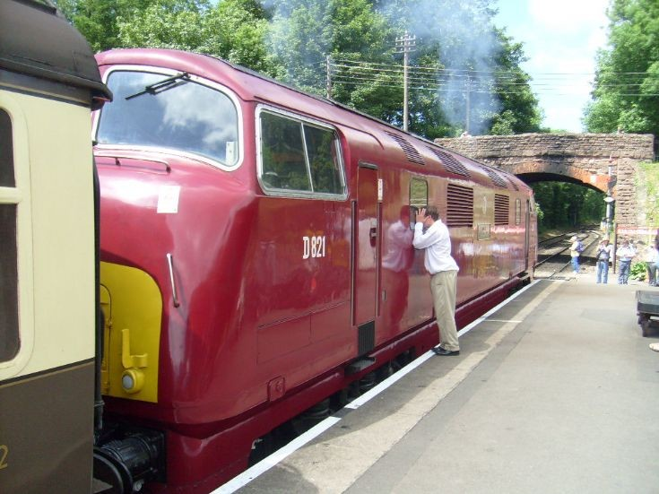 D821 at the West Somerset Railway