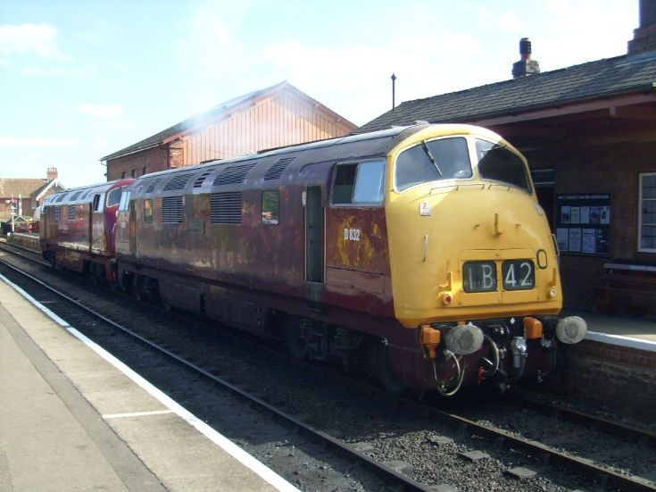 D832 and D821 at Bishops Lydeard