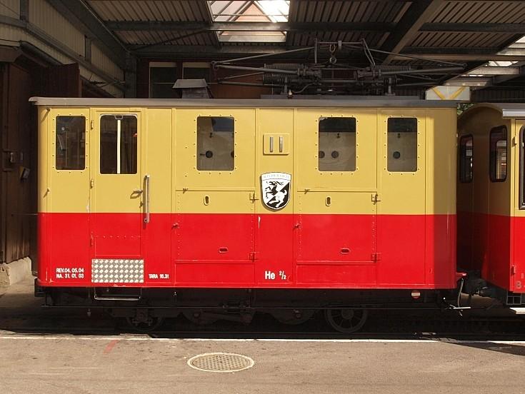 Electric Mountain train