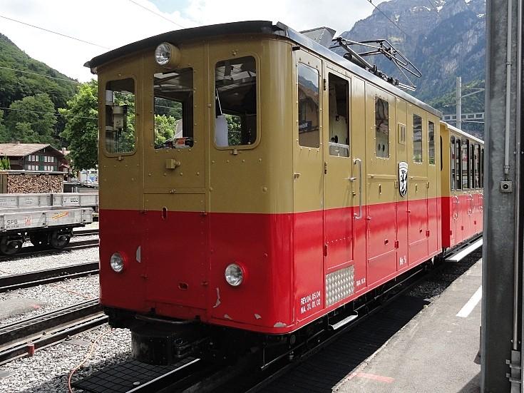 SLM small electric locomotive
