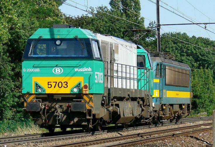 NMBS Diesel locomotive series 57