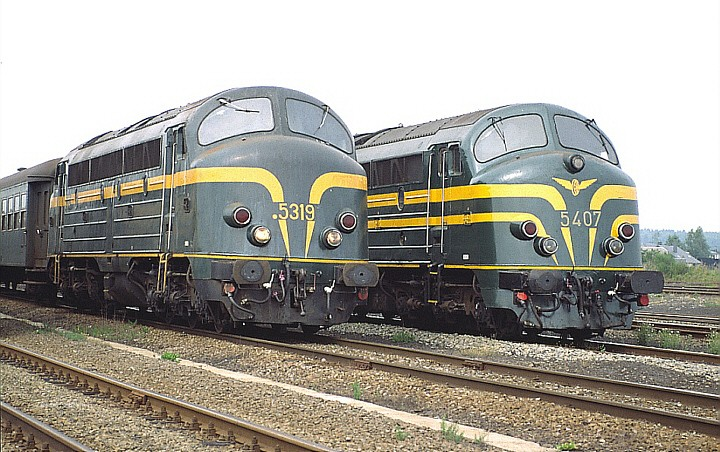 SNCB /NMBS 5319 + 5407