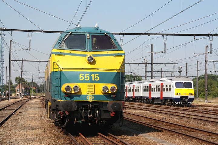 SNCB/NMBS 5515 + 380