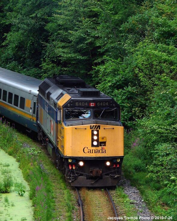 Via Rail train - 1 of 3
