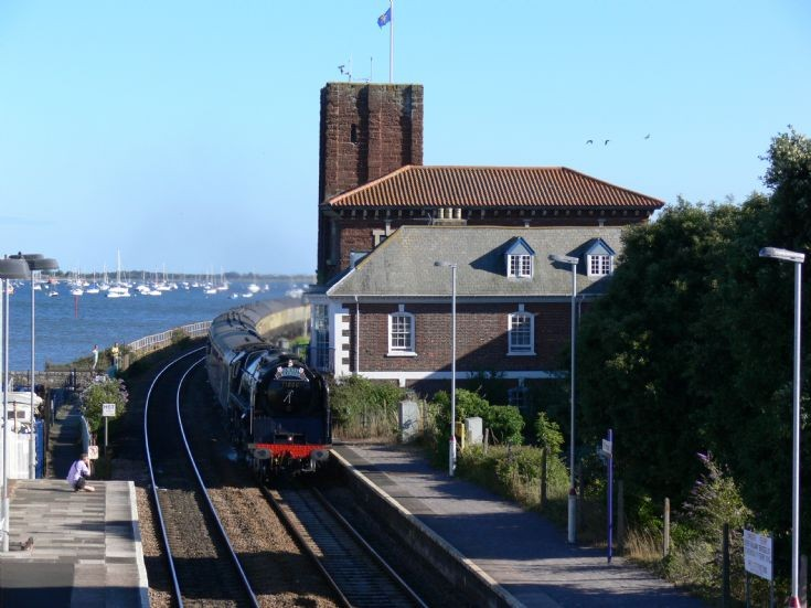 71000 Duke of Gloucester spotted at Starcross