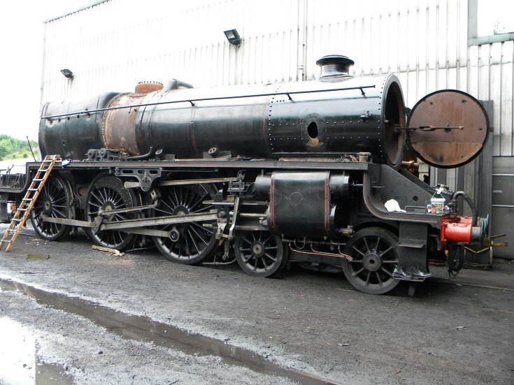 LMS Black Five 4-6-0 Class 5MT 45212