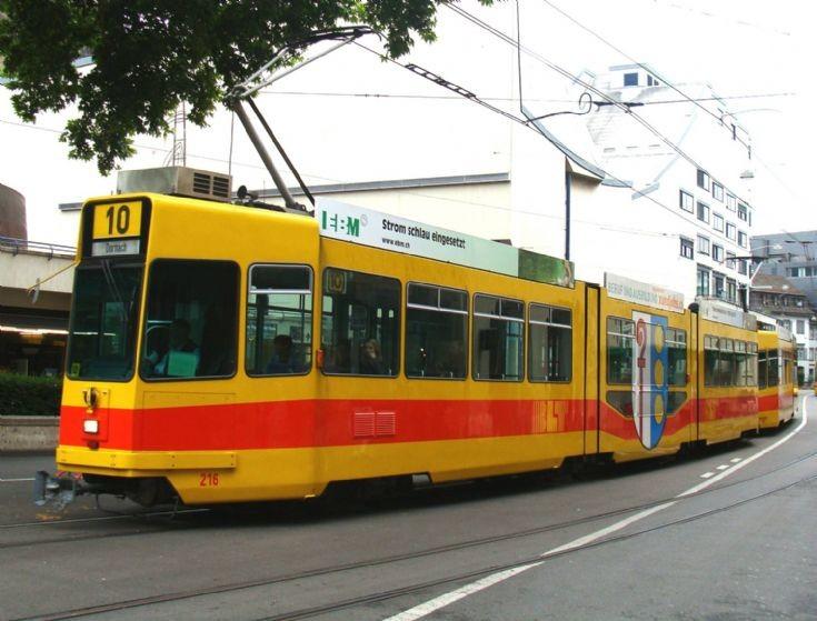 Tram - Basel Stadt - Switzerland