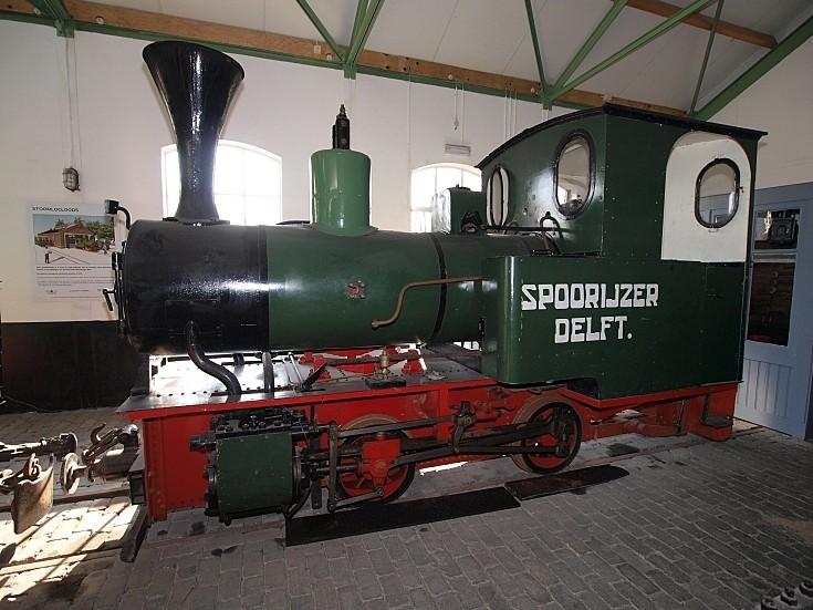 former loco of Spoorijzer Delft