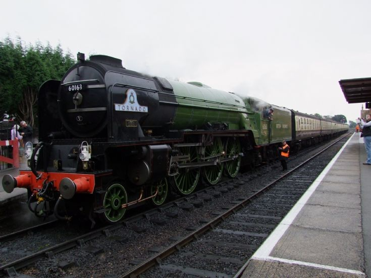 Steam locomotive 60163 at Bishops Lydeard