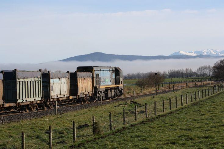 Kiwi-Rail coal train