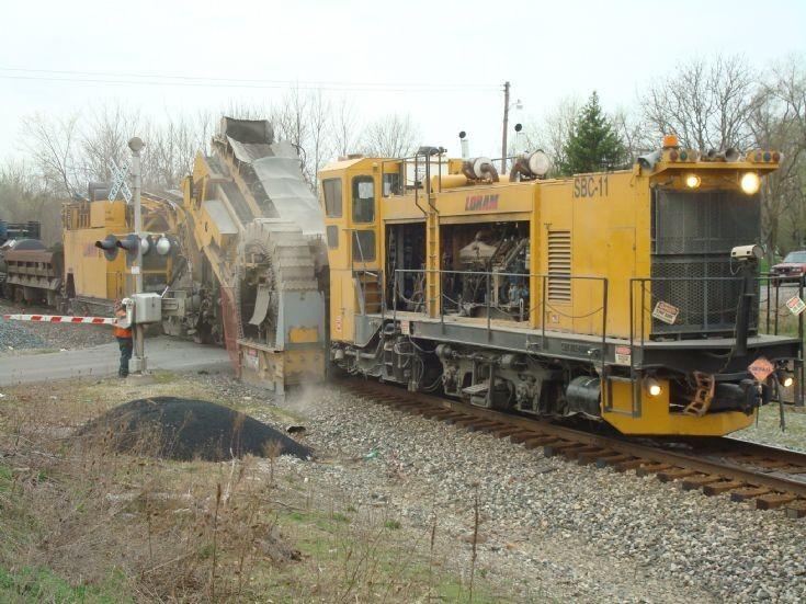 ballast cleaner Loram SBC-11