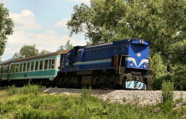 Croatian Railways loco.