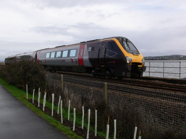 Class 220 at Starcross
