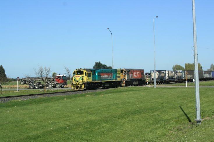 Kiwi Rail Freight Train two
