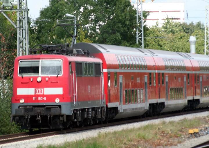 Baureihe Class 111 locomotive 111 183-0