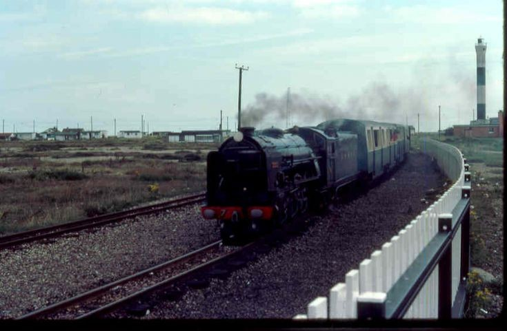 Dungeness arrival