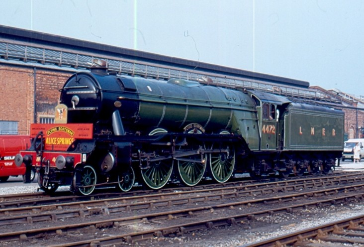 4472 (60103) at Crewe
