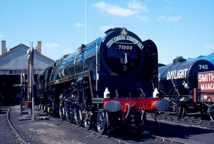 Unique 4-6-2 71000 Duke of Gloucester
