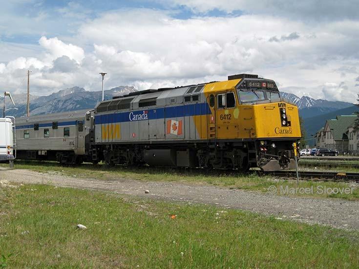 Diesel locomotive 6412 Jasper