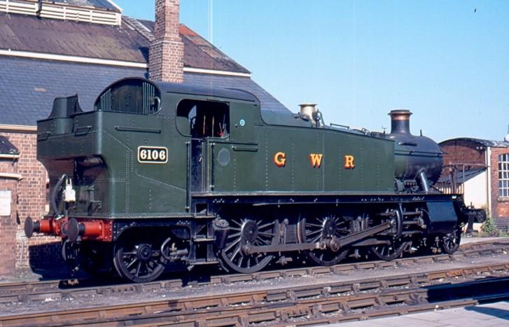 Great Western 2-6-2T 6106