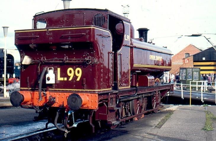 L99 aka 7715 at Crewe