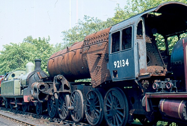 9F 92134 in ex Barry condition