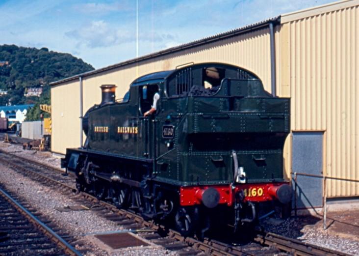 GWR 2-6-2T 4160